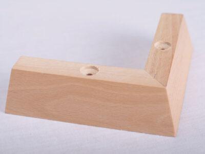 Wooden Corner Foot FF244