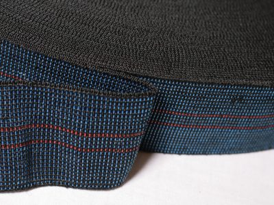 Elasticated Back Webbing