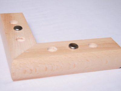 Wooden Corner Foot FFL33