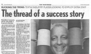 R J Binnie Ltd celebrates 20 years in business!