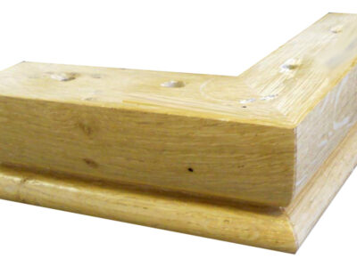 Wooden Corner Foot FFB616